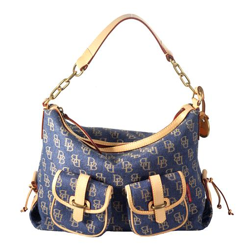 Dooney & Bourke Signature Pocket Shoulder Handbag