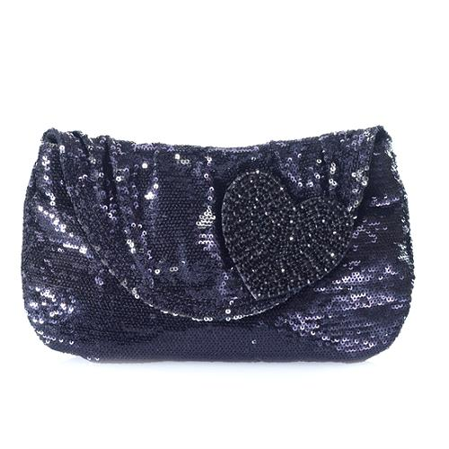 Felix Rey I Love You Sequin Clutch