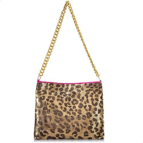 Felix Rey Jungle Love Mesh Shoulder Handbag