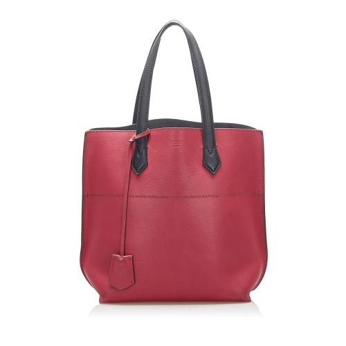 Fendi All Shopper Leather Tote Bag