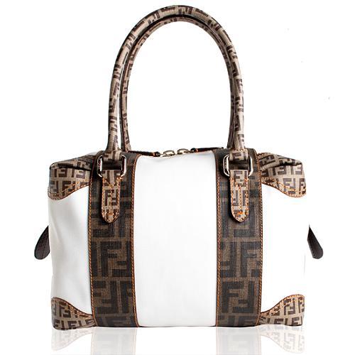 Fendi B Mix Multicolor Satchel Handbag