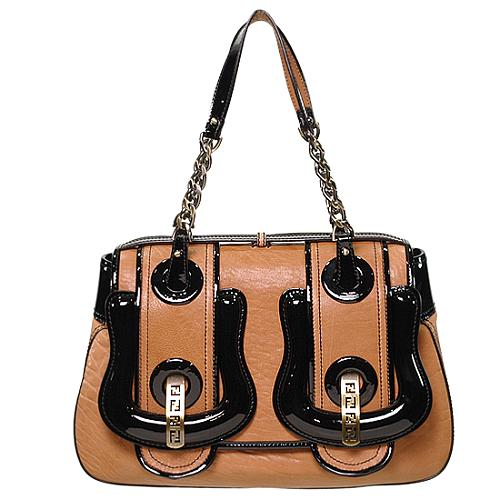 Fendi B. Satchel Handbag