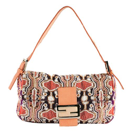 b2094845cdc9 Fendi-Beaded-Lizard-Trim-Baguette-Shoulder-Handbag 44632 front large 2.jpg