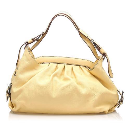 Fendi Borsa Doctor Leather Shoulder Bag