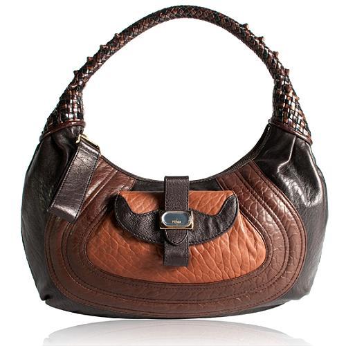 Fendi Borsa/Nappa Spy Hobo Handbag