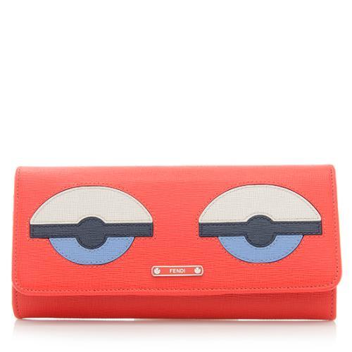purchase cheap 9e559 a577b Fendi Buggies Continental Wallet