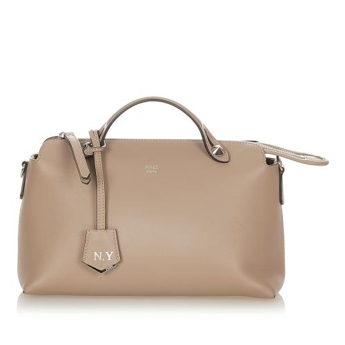 Fendi By The Way Leather Satchel