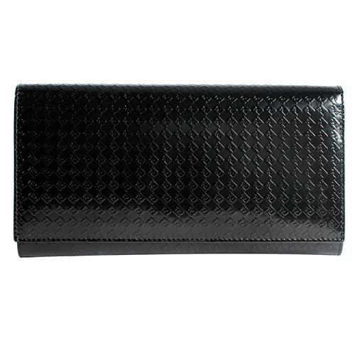 Fendi Calf Leather Long Wallet