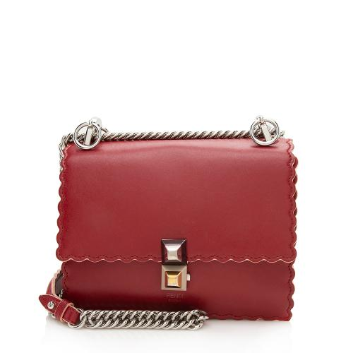 Fendi Calfskin Kan I Small Shoulder Bag