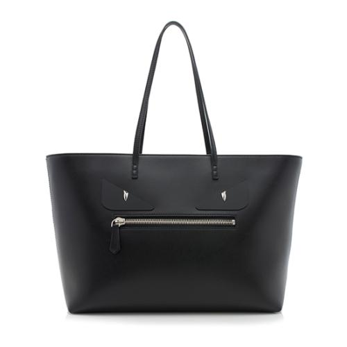 Fendi Calfskin Monster Roll Tote