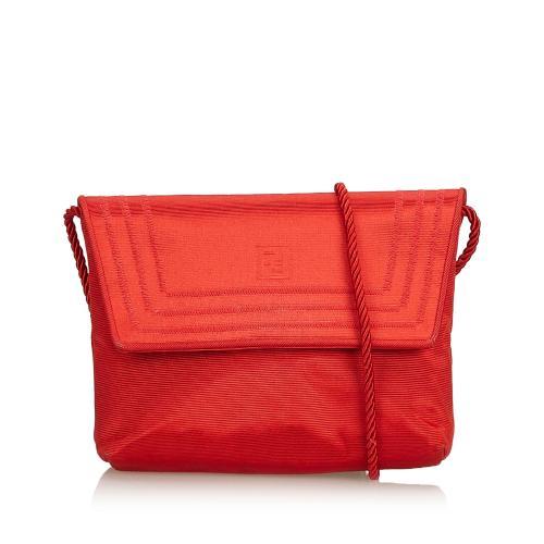 Fendi Canvas Crossbody Bag