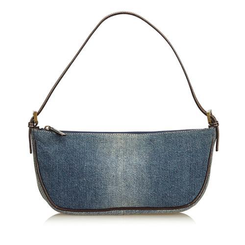 Fendi Denim Leather Shoulder Bag - FINAL SALE