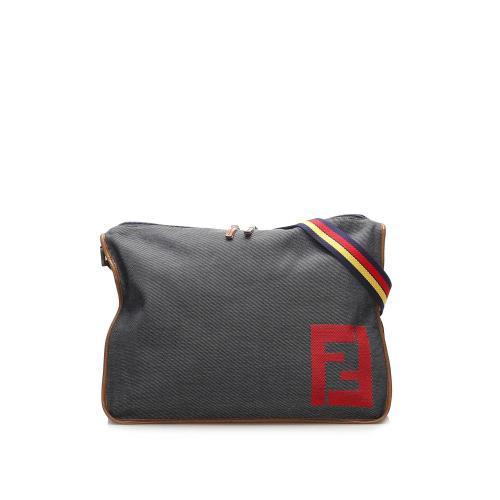 Fendi Denim Crossbody Bag