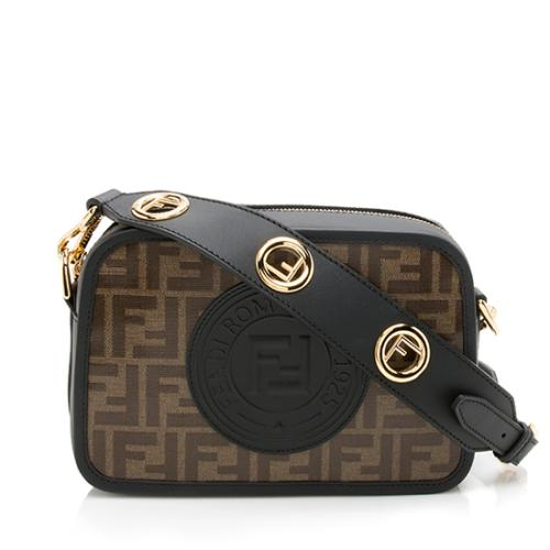 Fendi FF Coated Canvas Camera Case