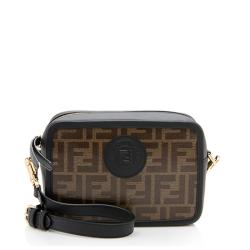 Fendi FF Coated Canvas Mini Camera Bag