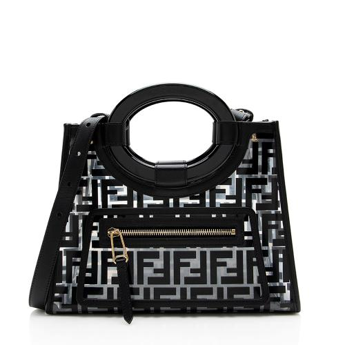 Fendi FF Runaway Small Shopper Tote