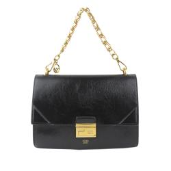 Fendi Leather Kan U Shoulder Bag