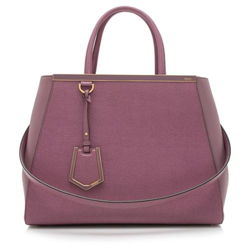 Fendi Leather 2Jours Tote