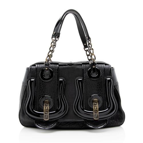 Fendi Leather B Bag Shoulder Bag