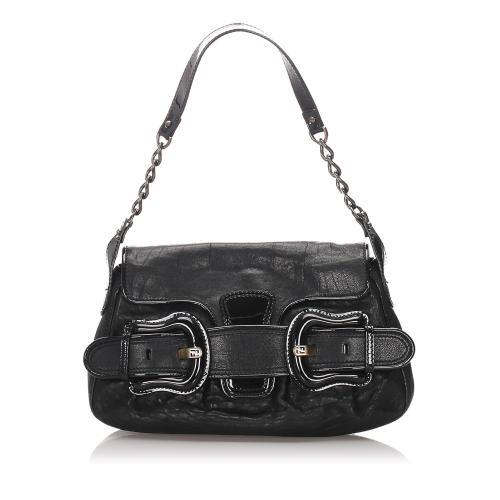 Fendi Leather B Bis Bag
