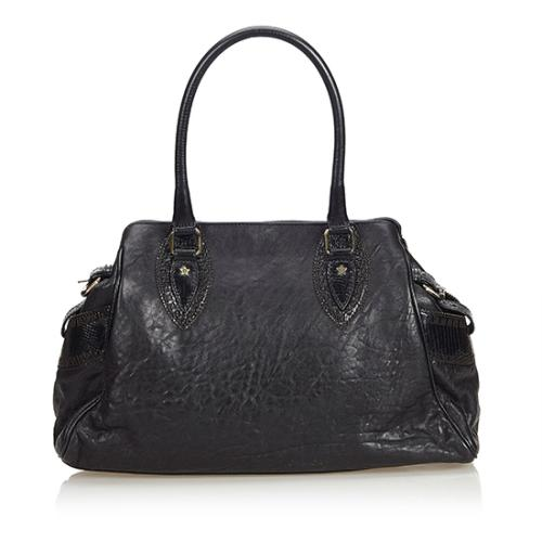 Fendi Leather Bag De Jour Tote