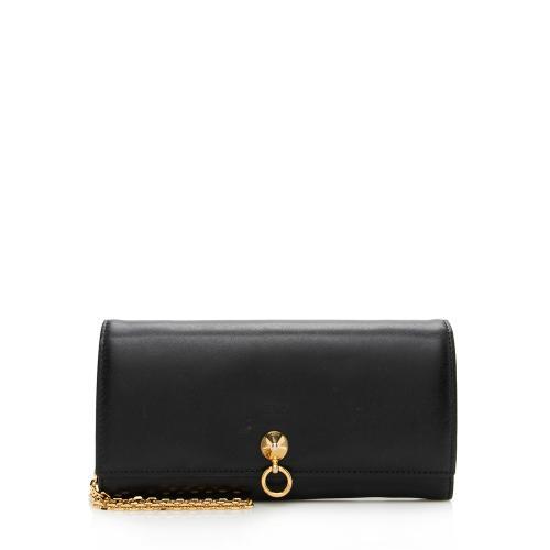 Fendi Leather Dotcom Wallet on Chain Bag