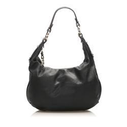 Fendi Leather Hobo Bag