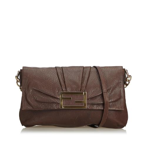 Fendi Leather Mia Crossbody Bag