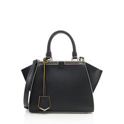 Fendi Leather Petite 2Jours Tote
