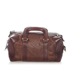 Fendi Leather Satchel