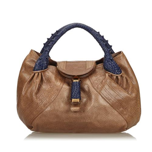 Fendi Leather Spy Bag