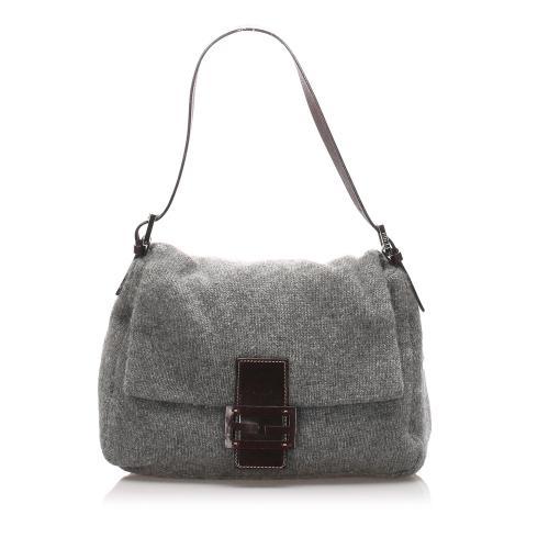 Fendi Cotton Mamma Forever Shoulder Bag