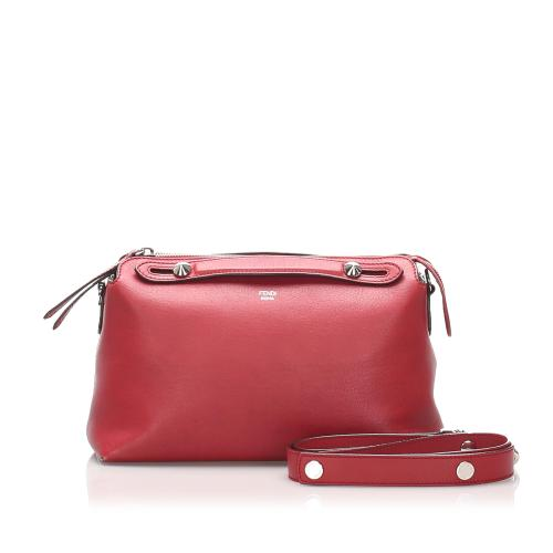 Fendi Leather Medium By The Way Crossbody Bag