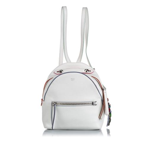 Fendi Leather Mini By The Way Backpack