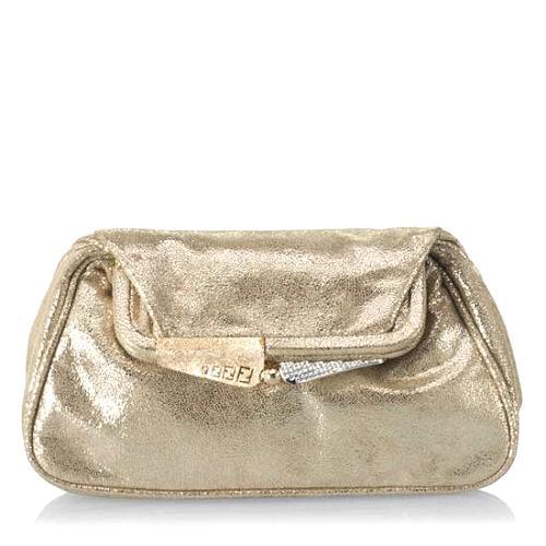 Fendi Mini Leather Evening Handbag