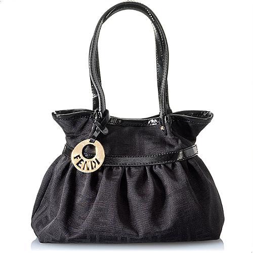 Fendi Canvas Mini Shopping Bag