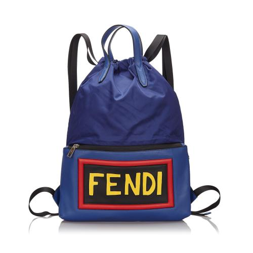 Fendi Monster Vocabulary Backpack