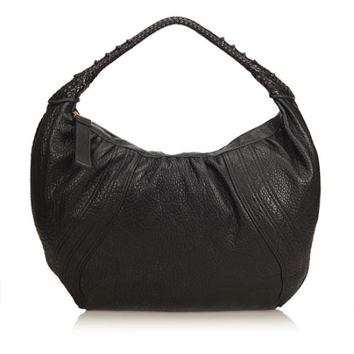 Fendi Nappa Leather Spy Large Hobo