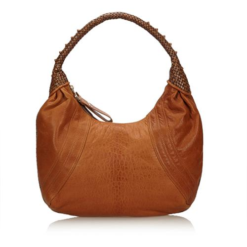 Fendi Nappa Leather Spy Hobo