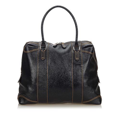 Fendi Patent Leather Satchel