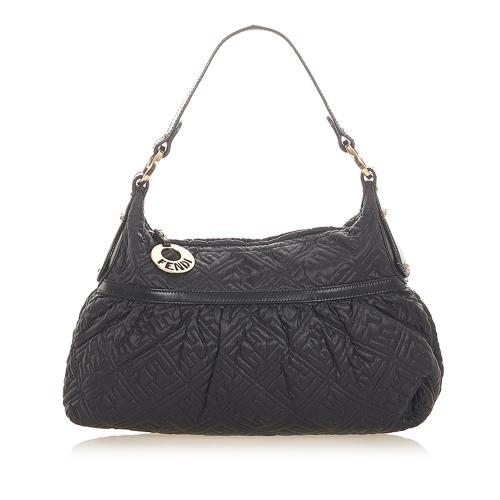 Fendi Quilted Leather Shoulder Bag