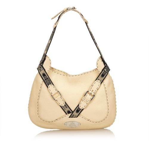 Fendi Selleria Buckle Hobo