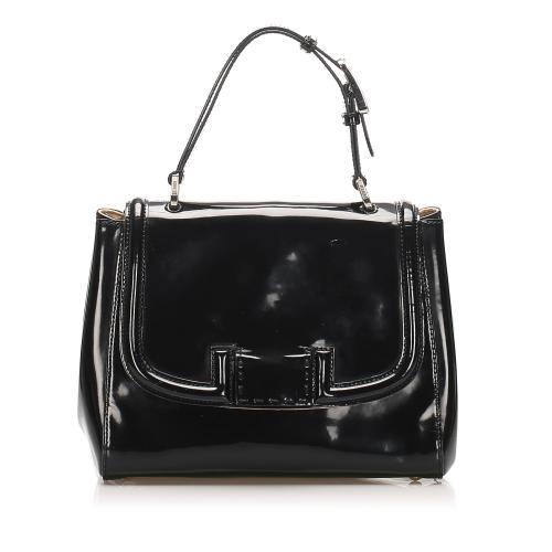 Fendi Silvana Patent Leather Satchel