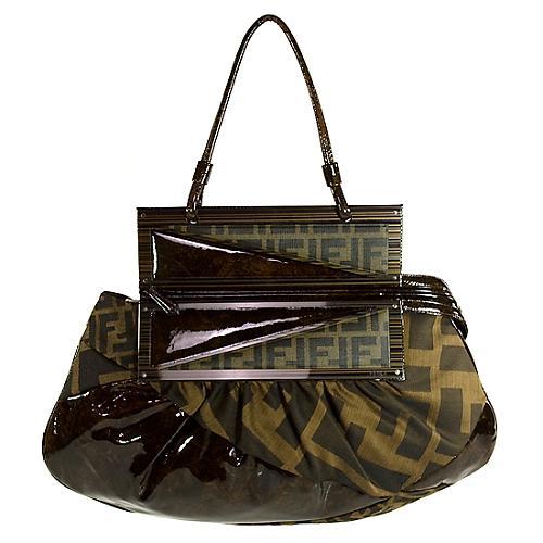 Fendi To You Convertible Satchel Handbag