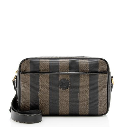 Fendi Vintage Pequin Shoulder Bag