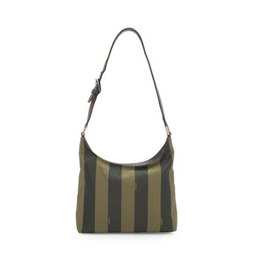 Fendi Vintage Pequin Shoulder Bag - FINAL SALE