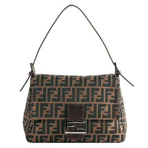 6d481dc05315 Fendi Zucca  Mamma Forever  Shoulder Handbag