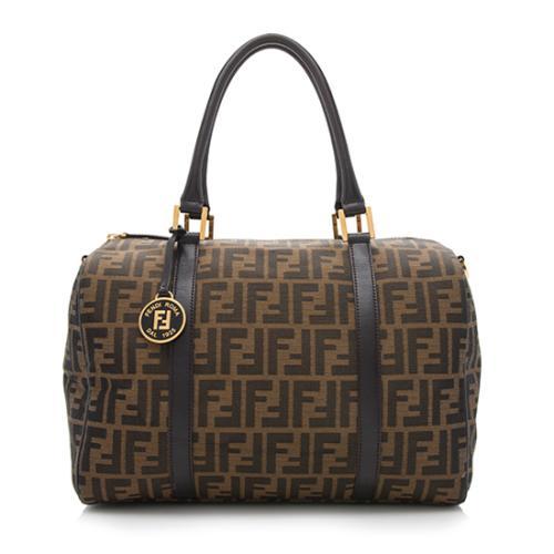 5c008d3a123a Fendi Zucca Medium Boston Bag - FINAL SALE