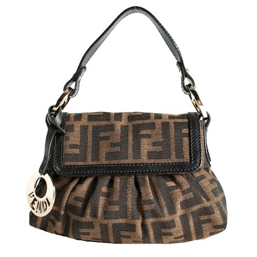 Fendi Zucca Mini Chef Shoulder Handbag