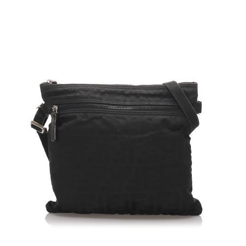 Fendi Zucca Nylon Crossbody Bag
